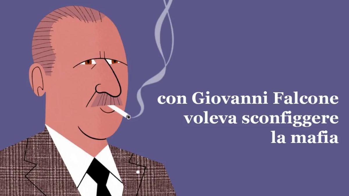 Paolo Borsellino stilizzato