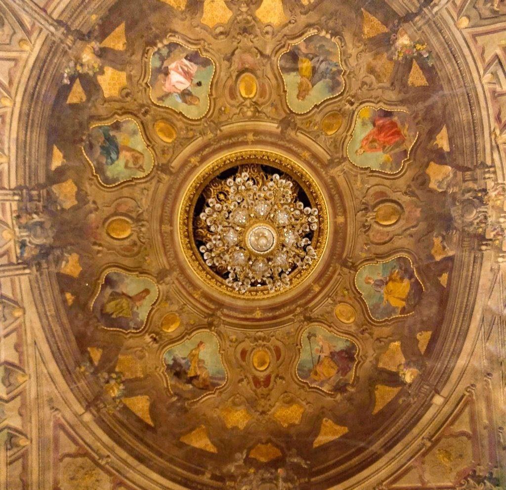 Teatro Comunale Bologna Soffitto