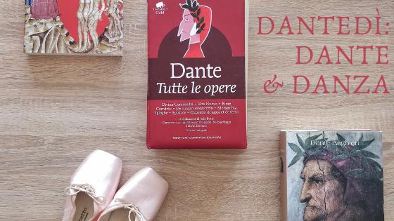 Scarpette di danza e libri di Dante